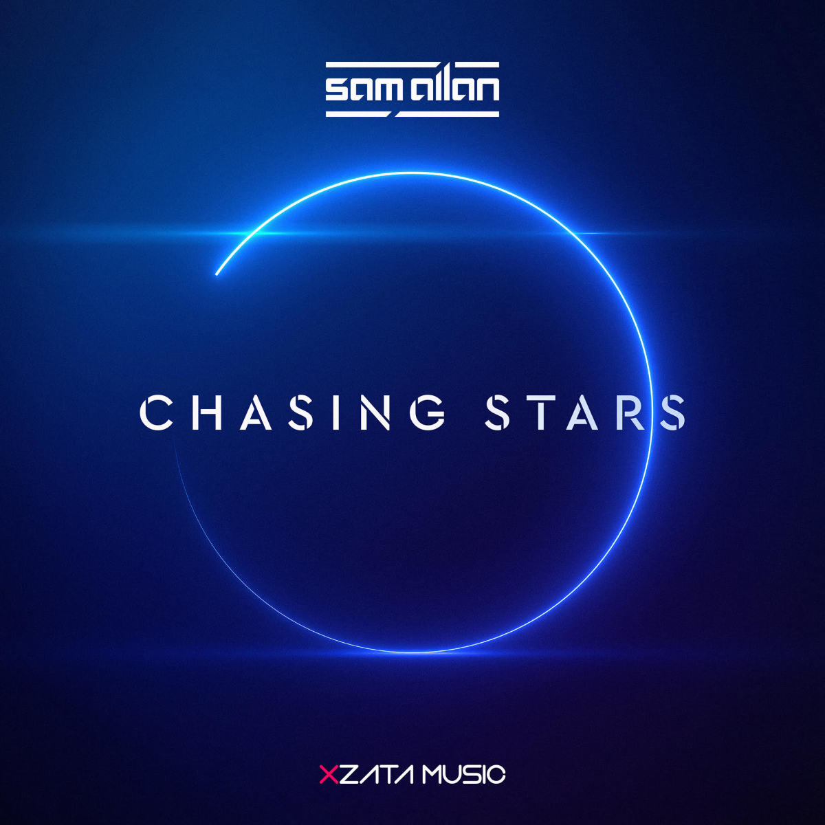 Sam Allan - Chasing Stars (ALBUM ARTWORK)