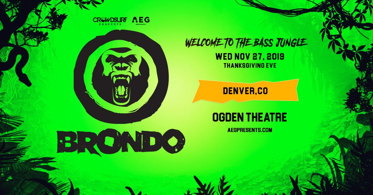 Brondo - Welcome To The Bass Jungle (DENVER)