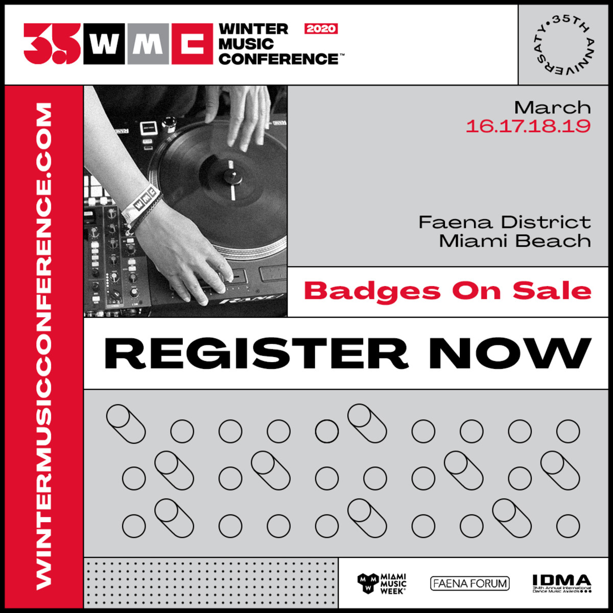 WMC - Register Now (Badges On Sale)