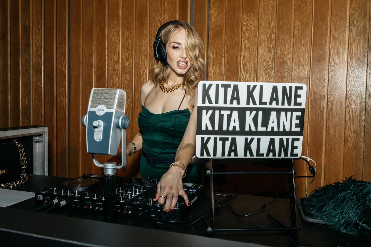 Kita Klane performs at Capitol Studios.