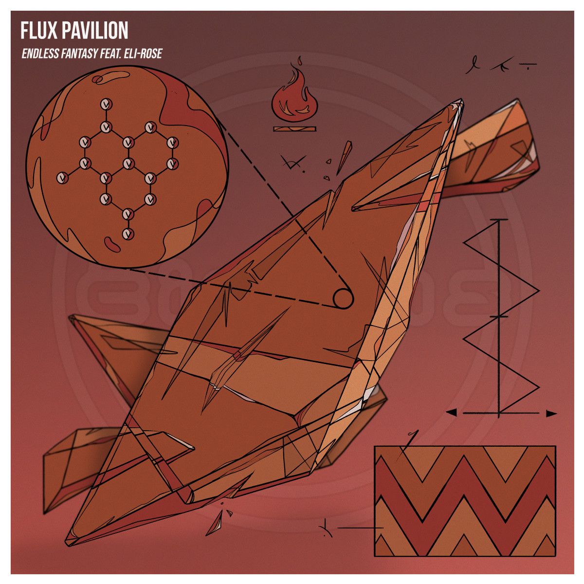 Flux Pavilion - Endless Fantasy (feat. Eli-rose) - ALBUM ARTWORK