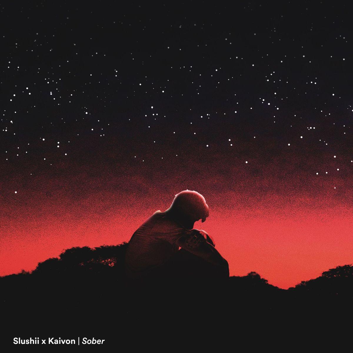 Slushii Kaivon Sober Album Artwork