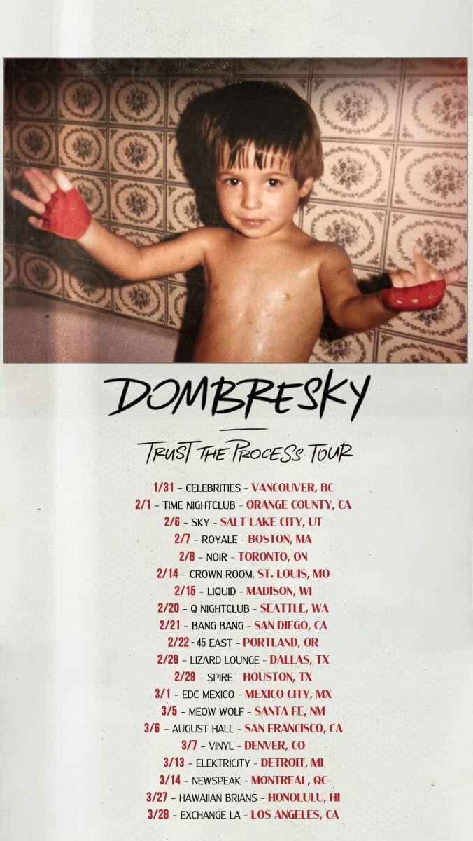 Dombesky - Tour Flier