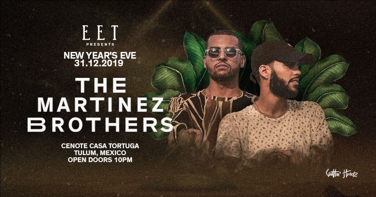 The Martinez Brothers EET NYE party artwork.