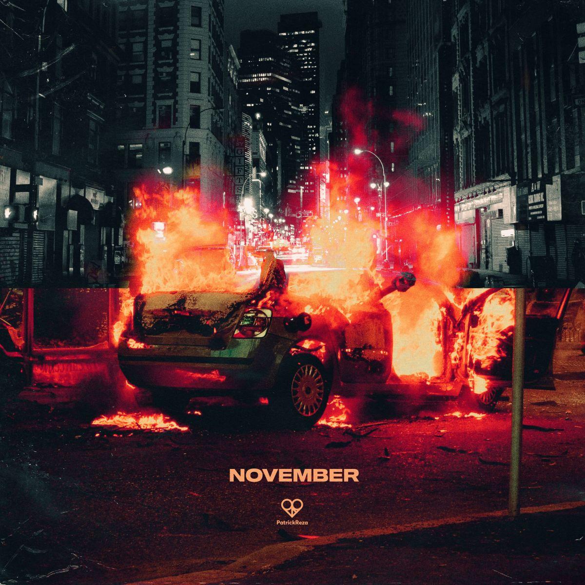 PatrickReza November Album Art