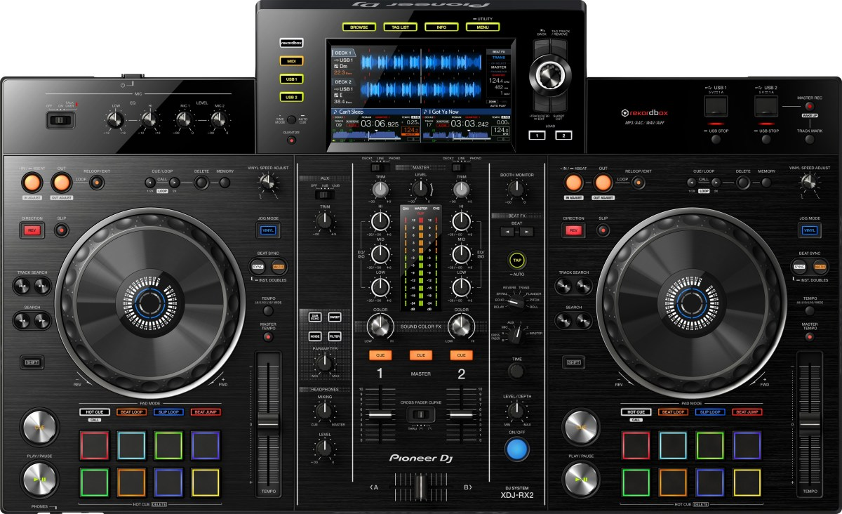 xdj rx2 all in one dj controller