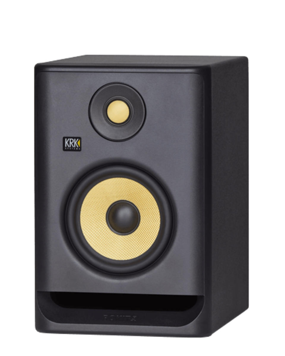 krk rokit rp5 single studio monitor