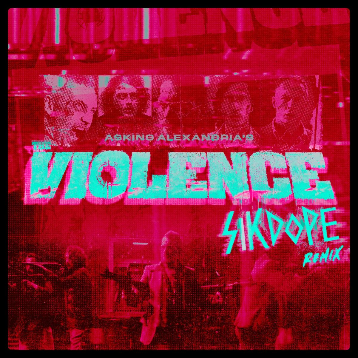Asking Alexandria Violence