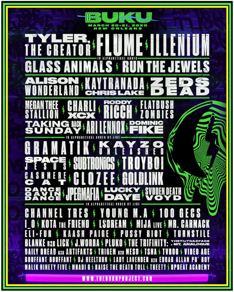 BUKU Music + Arts Festival 2020 lineup