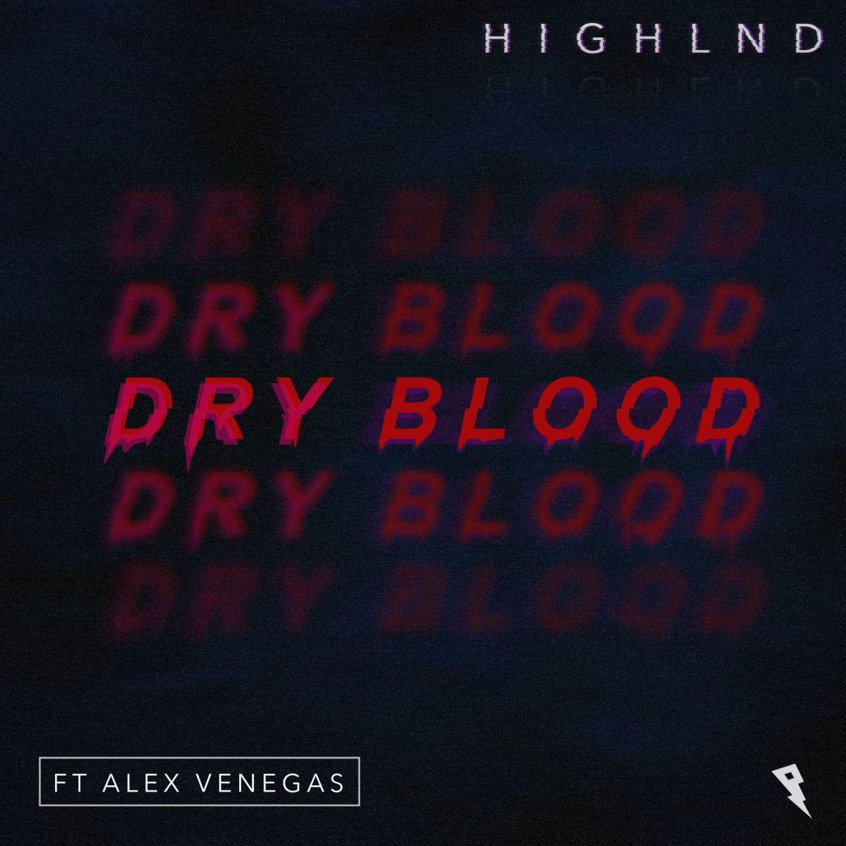 Highlnd Dry Blood Album Art