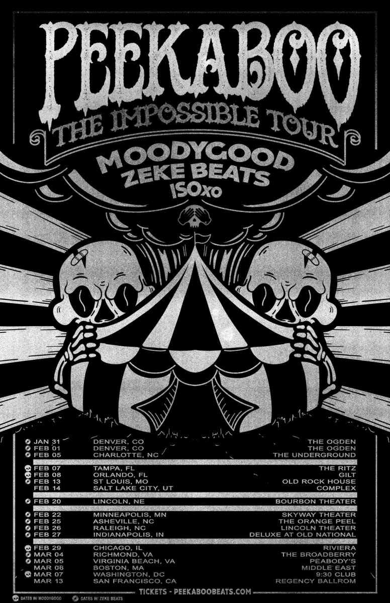 Peekaboo Impossible Tour