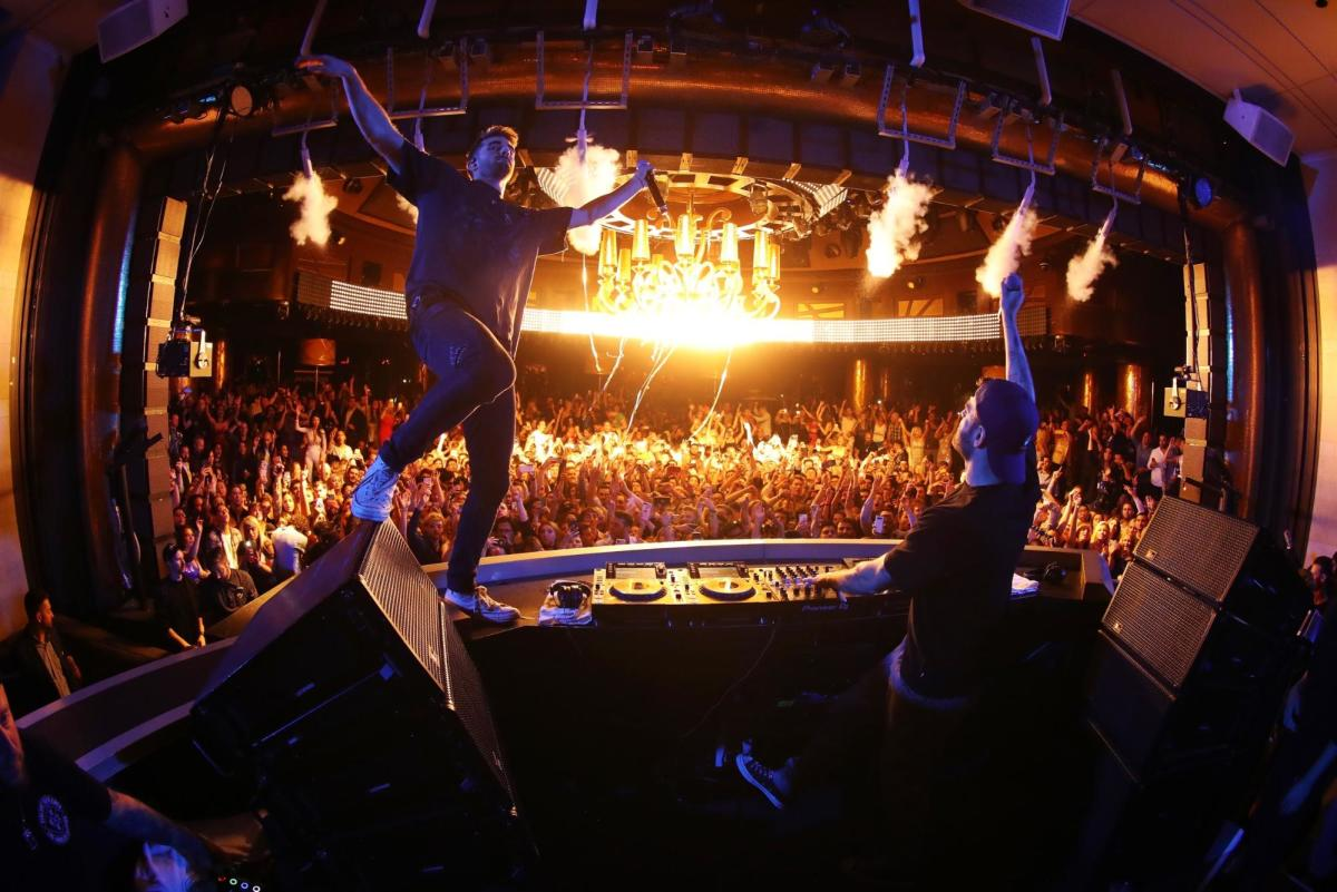 The Chainsmokers NYE XS Nightclub, Las Vegas