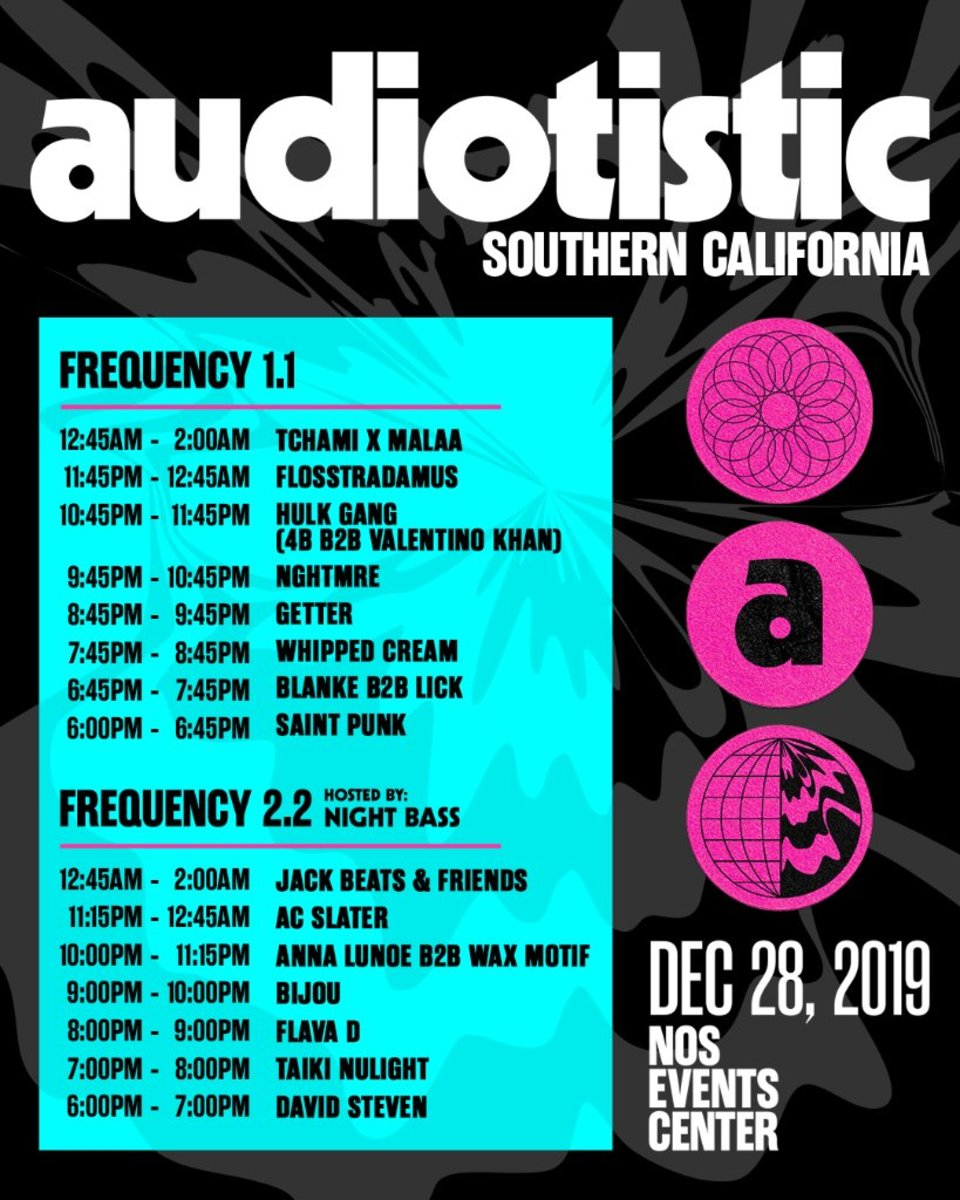 Audiotistic2019 Full Event Schedule