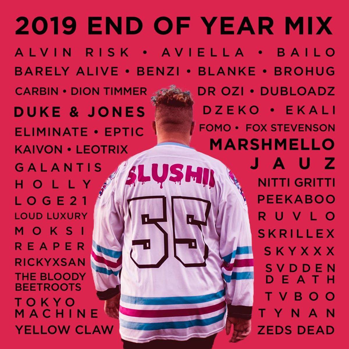 slushii end of year mix
