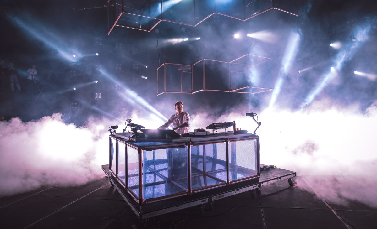Flume onstage