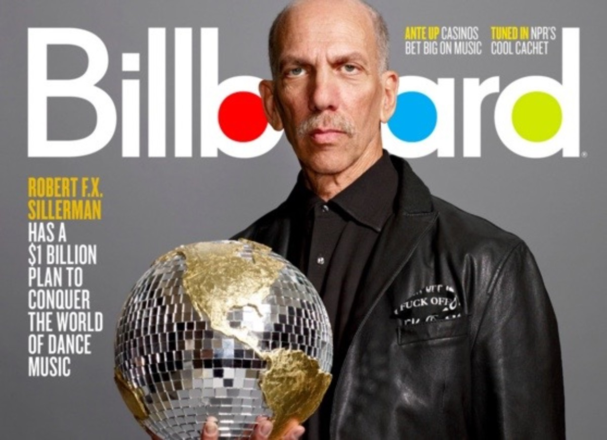 Robert Sillerman on the cover of Billboard.