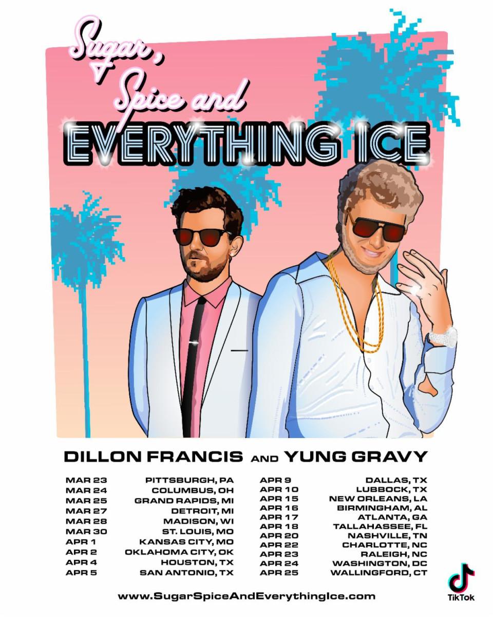 Dillon Francis Yung Gravy 2020 Tour