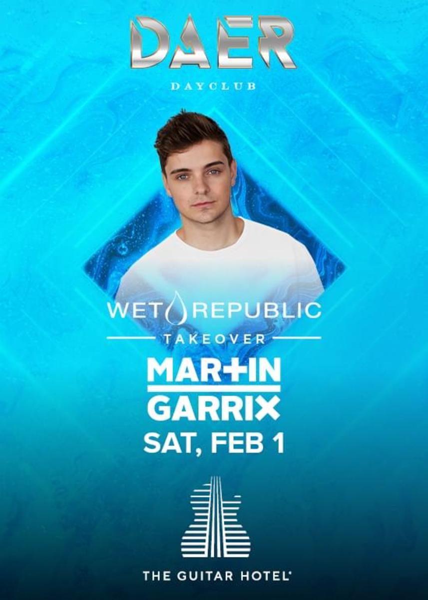 Martin Garrix super bowl party