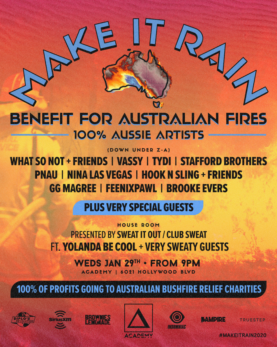 Make It Rain - Australian Bushfire Benefit Event (Lorne Padman)