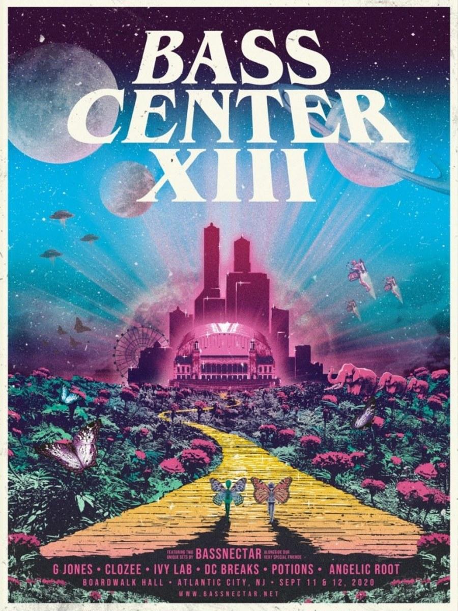Bassnectar's Basscenter XIII flyer.