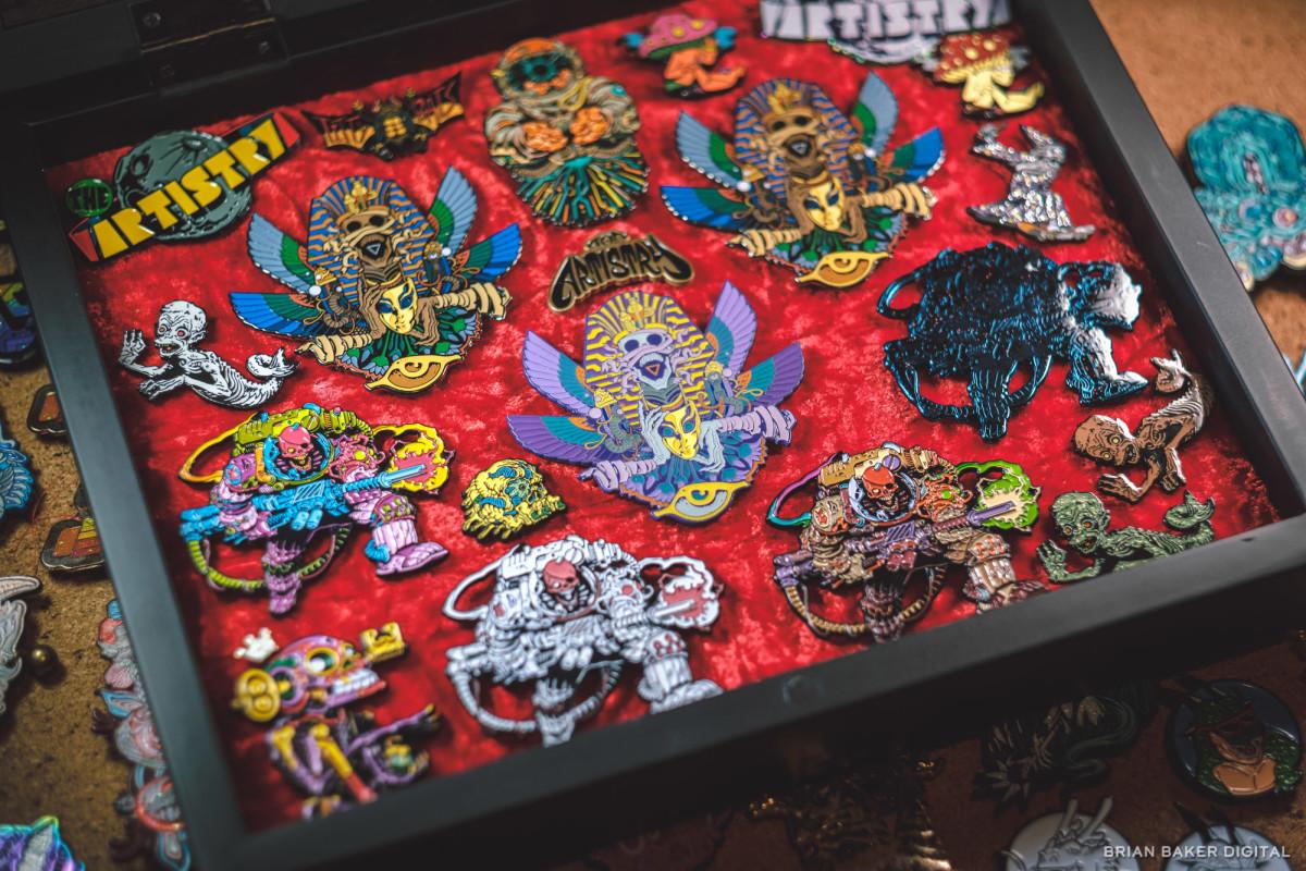 enamel pin collection