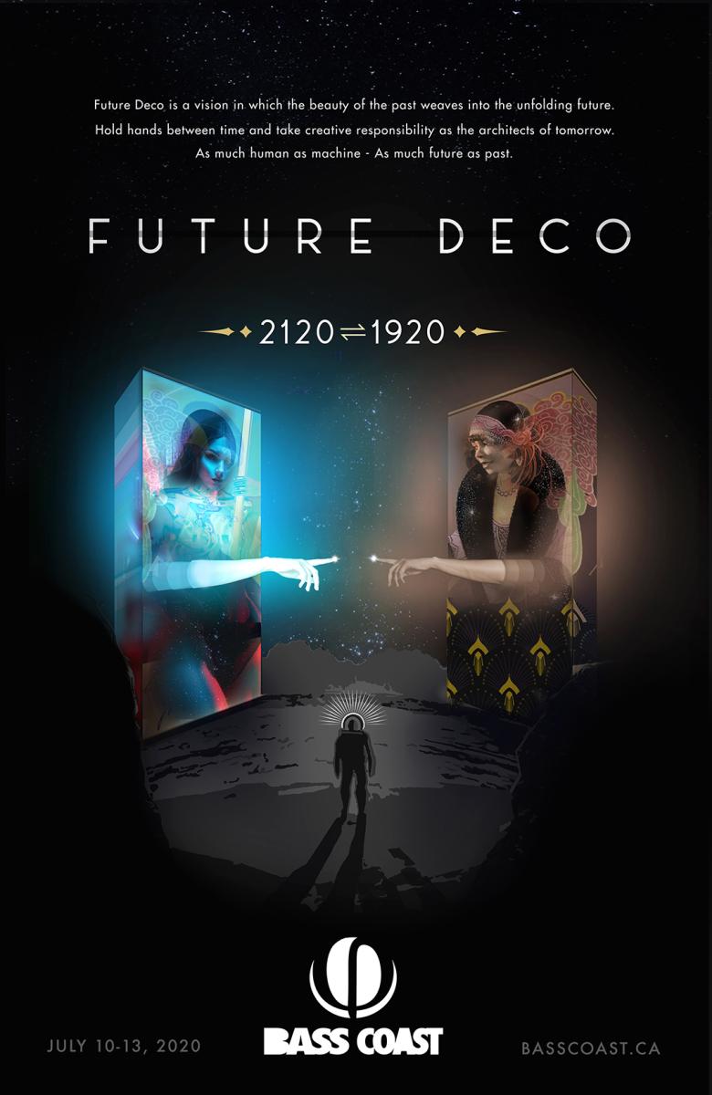 Bass Coast Theme 2020 Future Deco