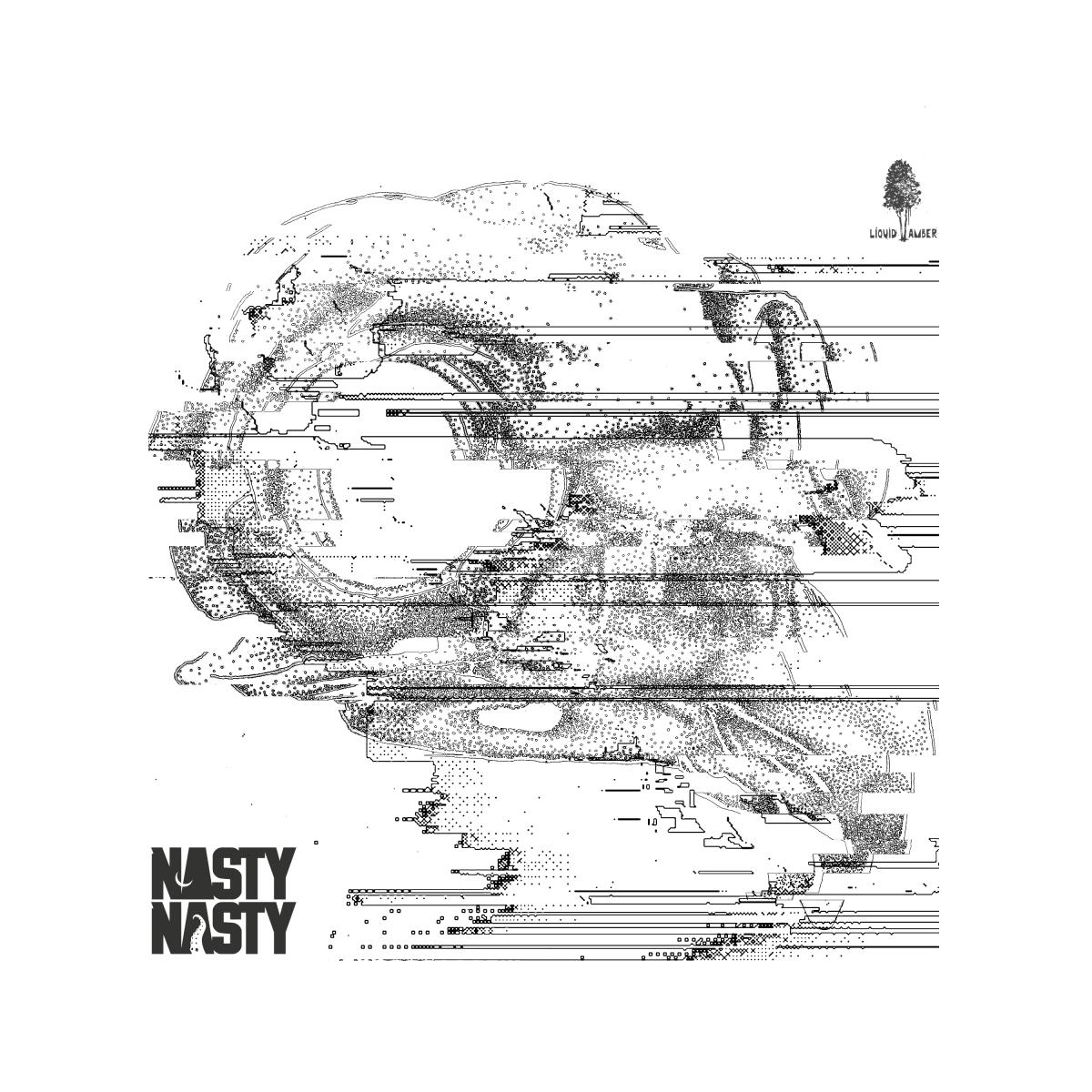 NastyNasty Hideous Mask Album Artwork for Retail / Distribution (EDM.com)