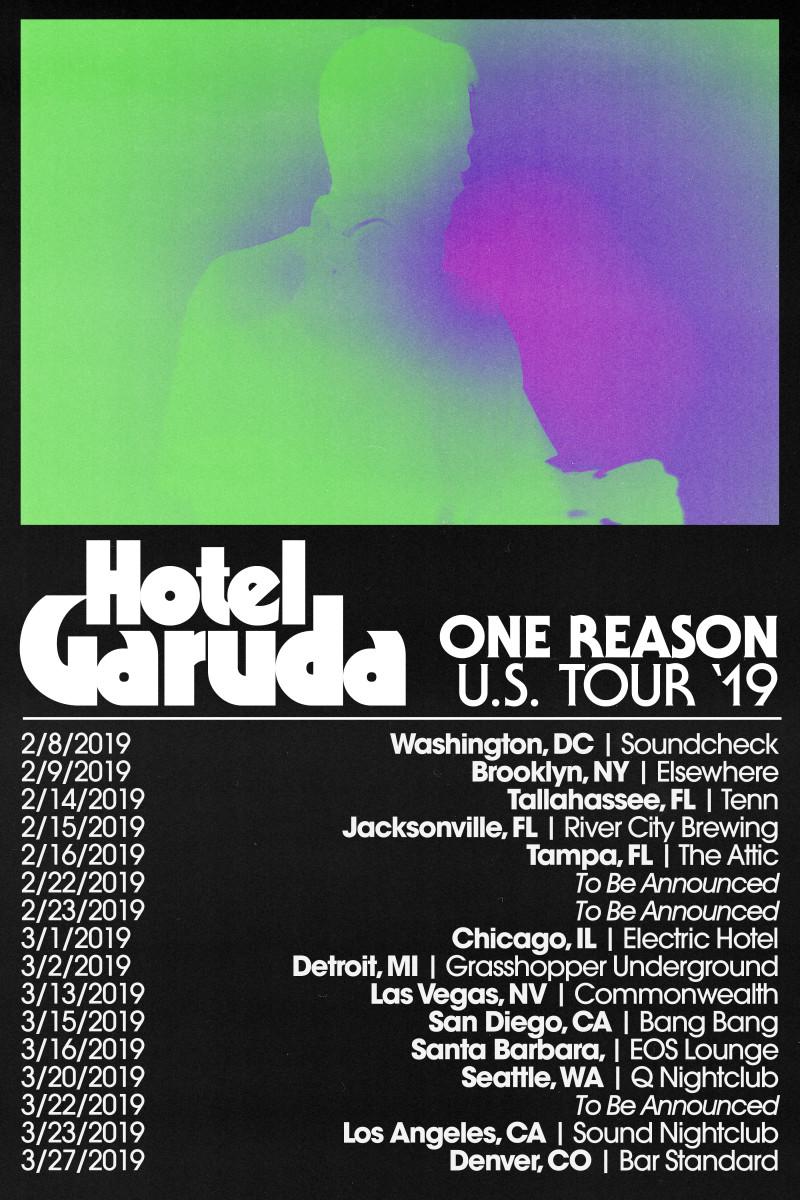 Hotel Garuda One Reason United States Tour 2019
