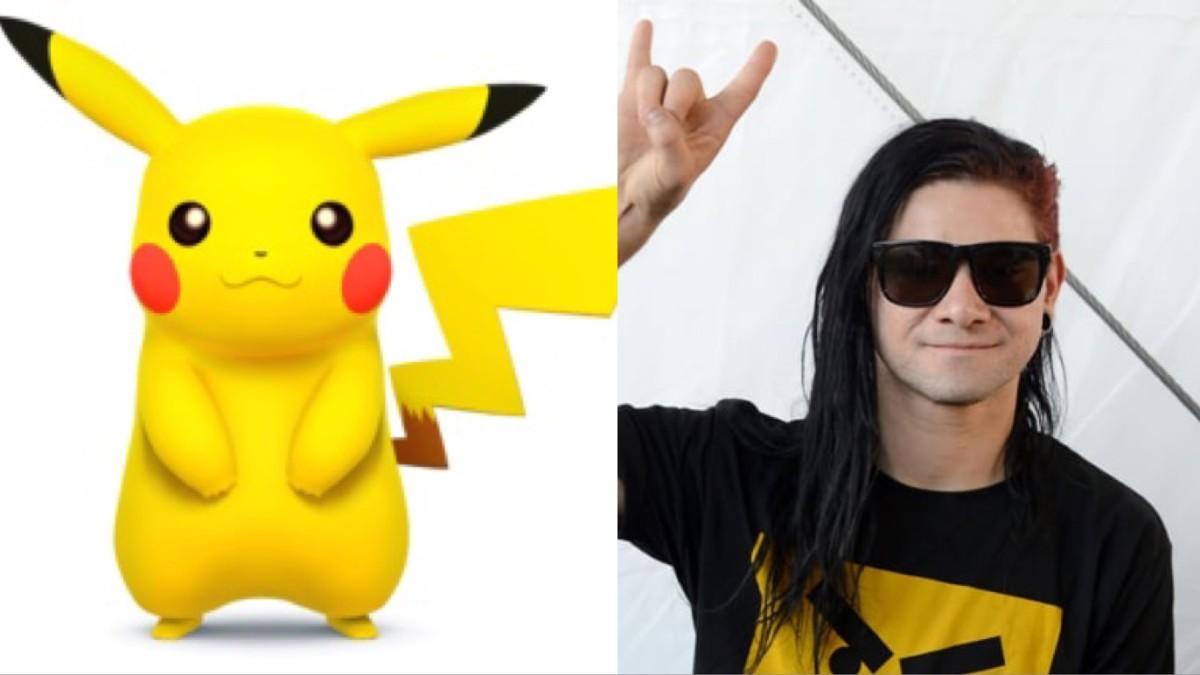 skrillex pikachu