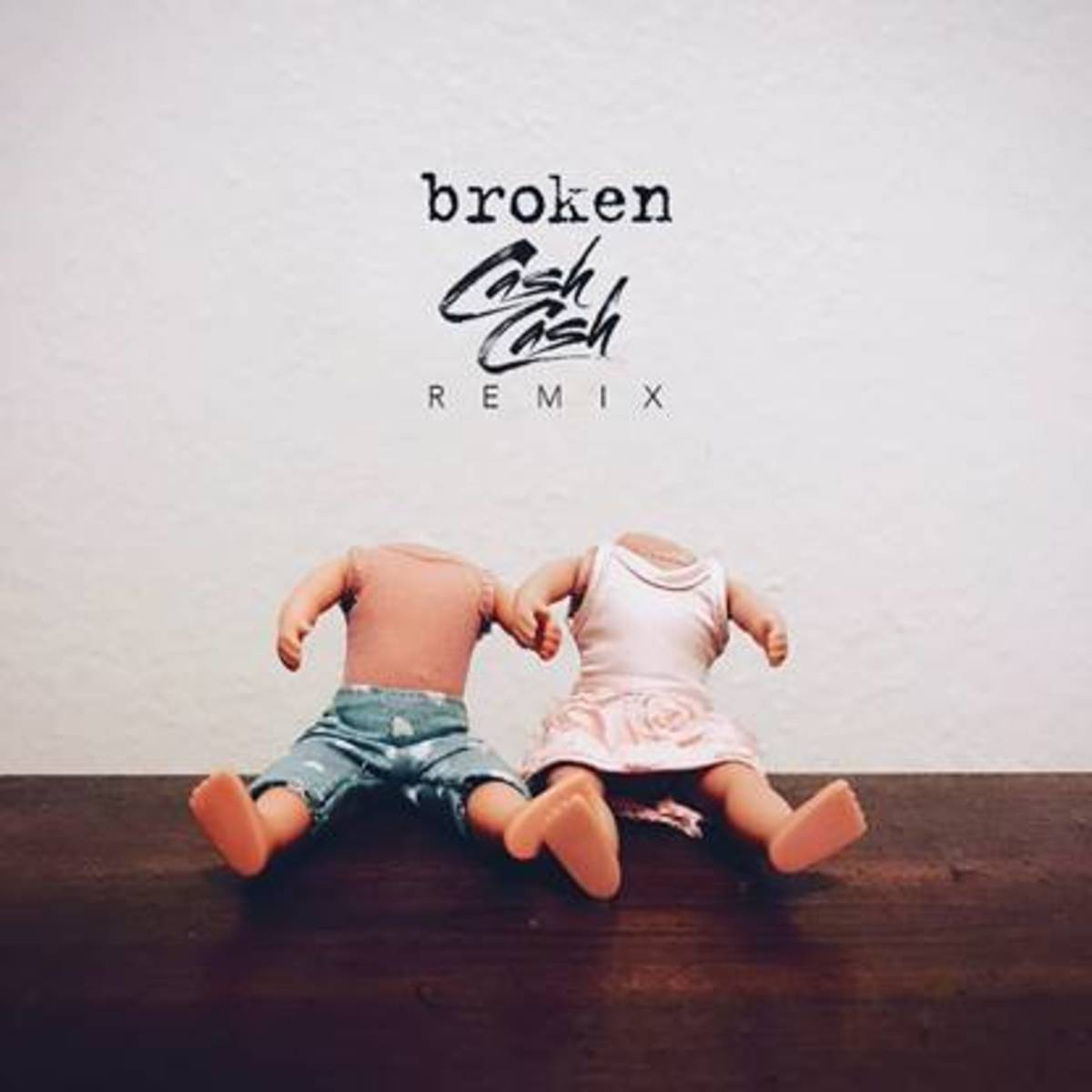 Cash Cash lovelytheband broken Remix Cover Art