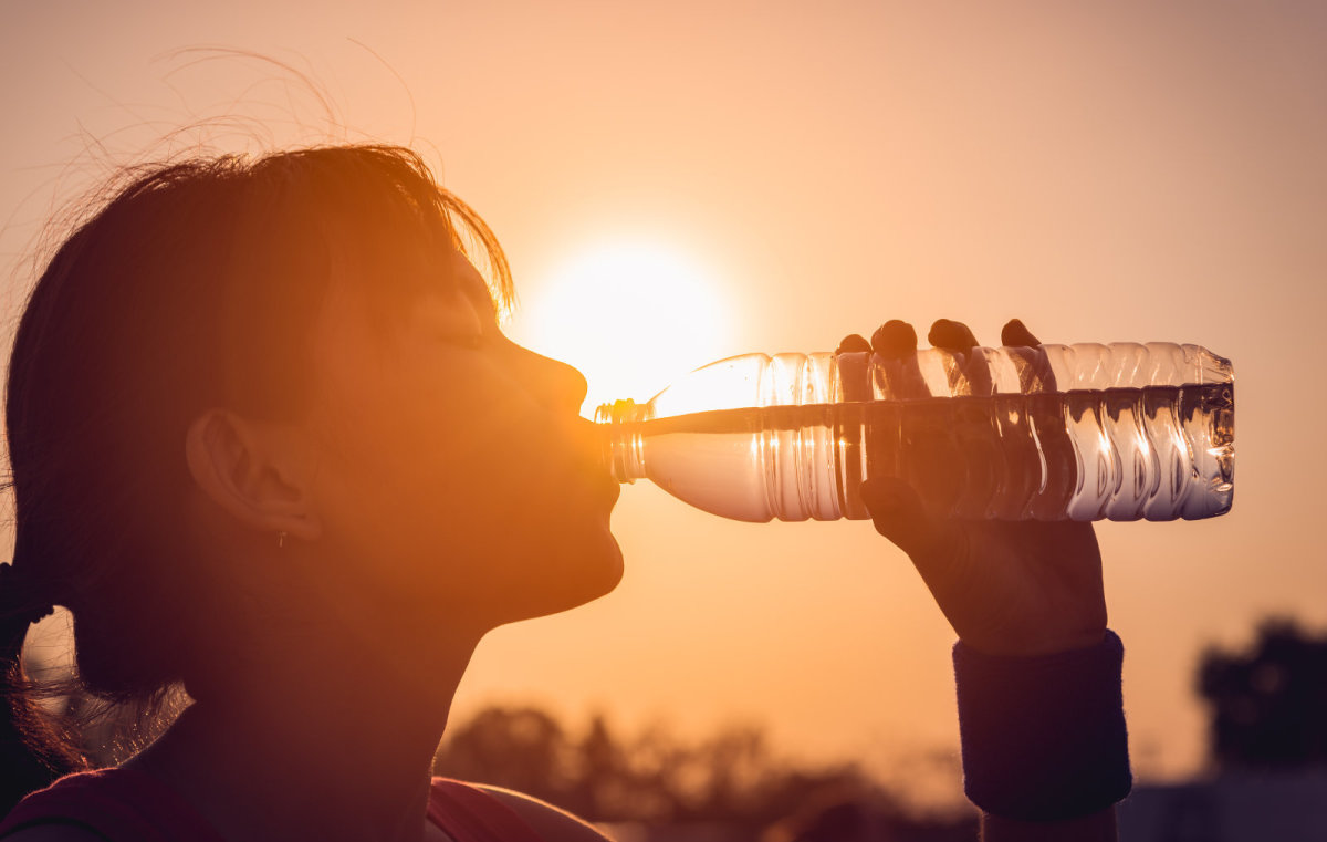 Drink, drink, and drink some more. You can never have enough water after a festival, or during!