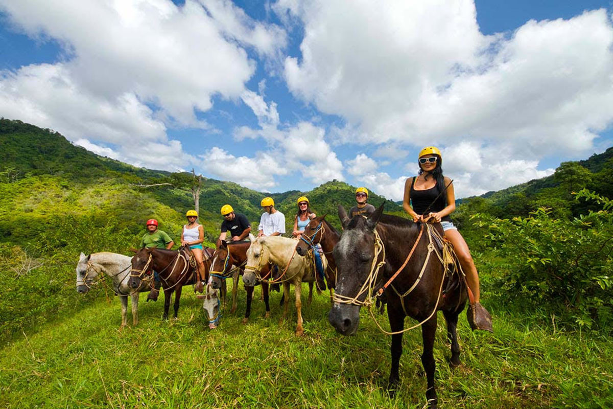 Horseback Riding Bamboo Bass Festival