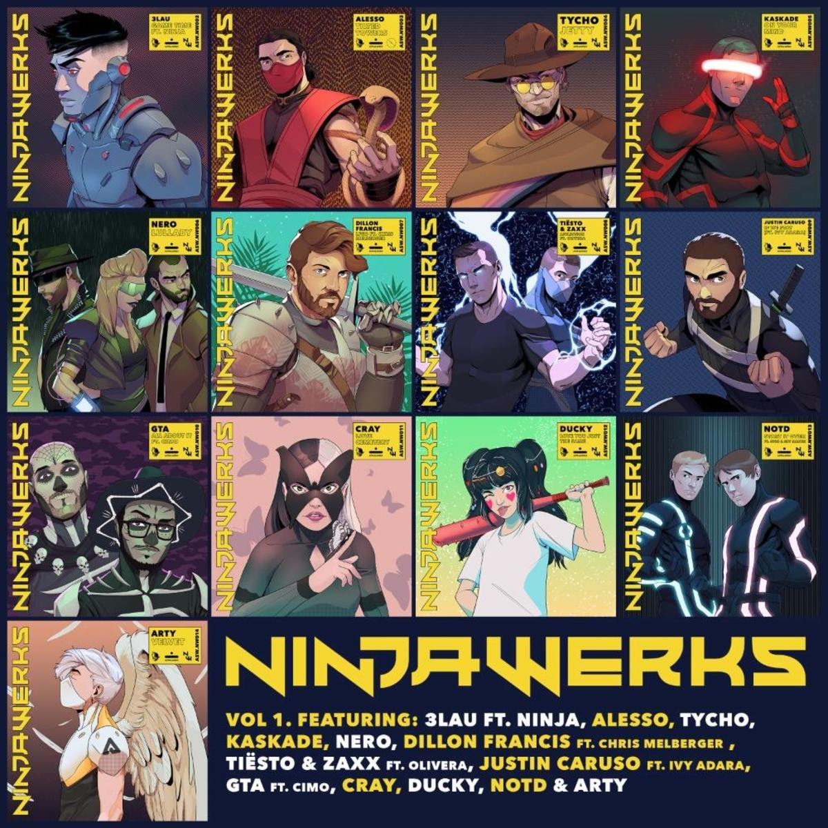 Astralwerks Records Ninjawerks Vol 1