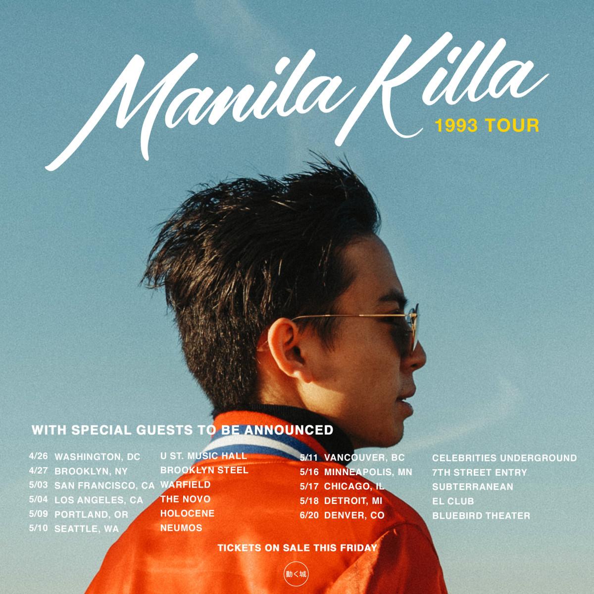 Manila Killa 1993 Tour