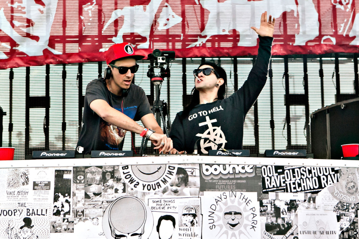 Skrillex and Boys Noize are Making New Dog Blood Music