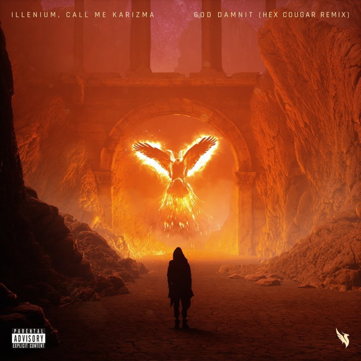 "Hex Cougar Lands Official Remix Of Illenium's ""God Damnit"