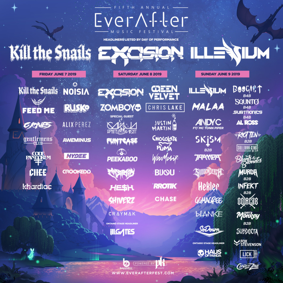 Ever After Music Festival (Lineup 2019)