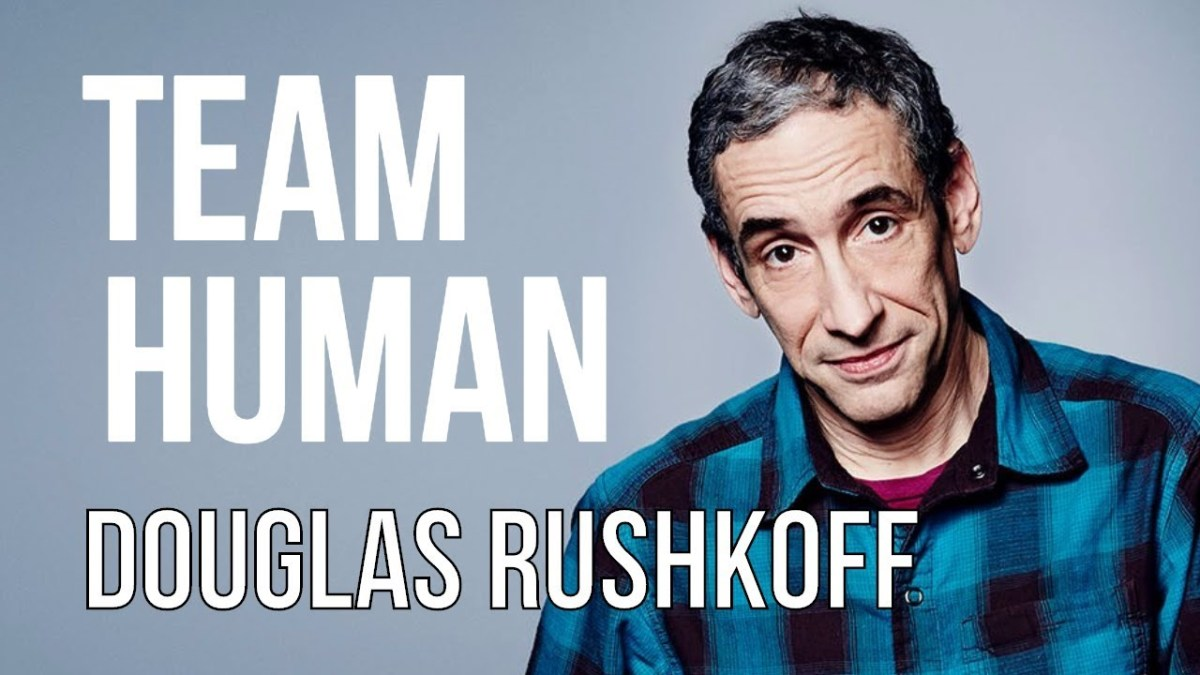 "Dr. Douglas Rushkoff - ""Team Human"" Podcast - Keynote Speaker for 24th Annual Winter Music Conference (WMC) - EDM.com Feature"