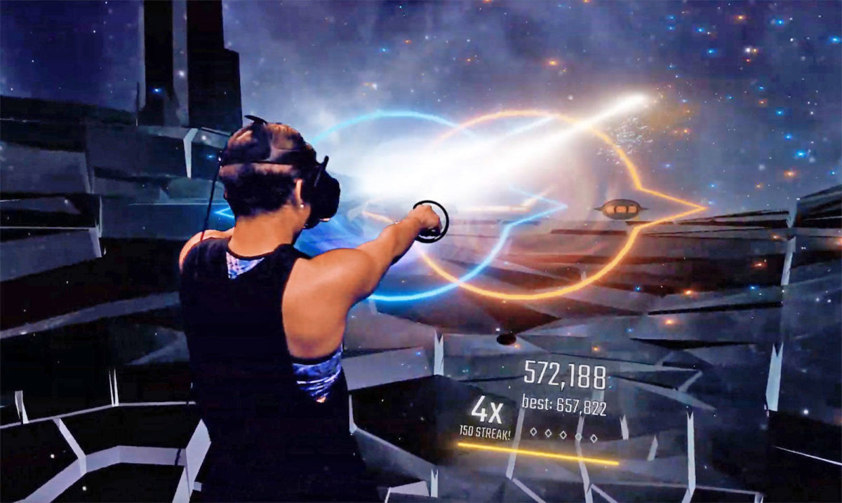 Heavy Virtual Reality Shooter Game