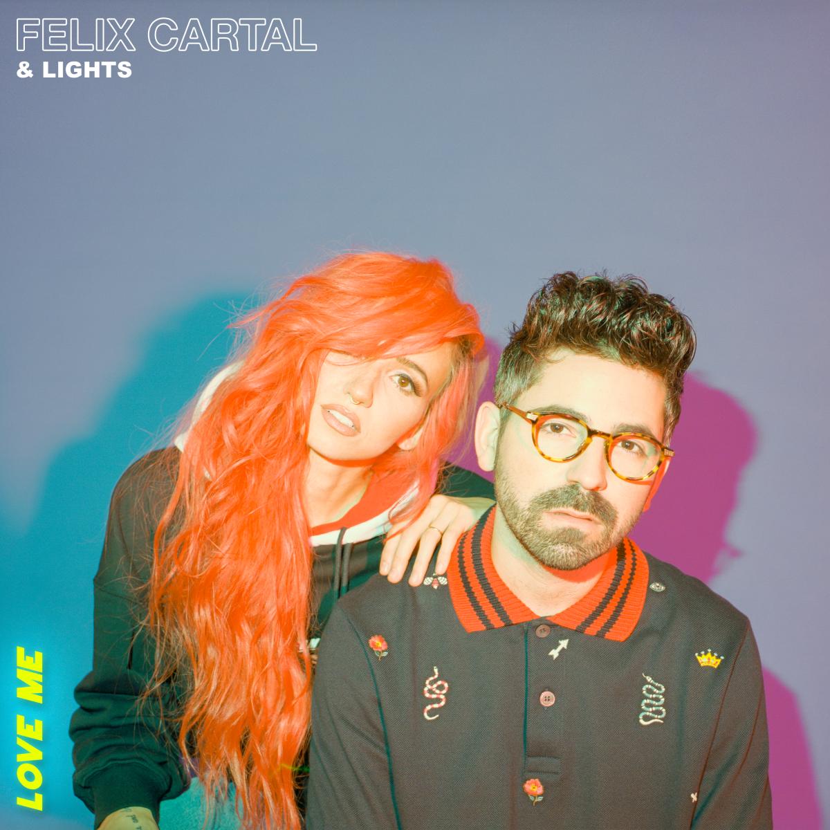 Felix Cartal & Lights Love Me Cover Art