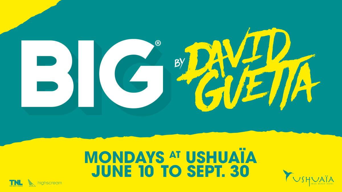 David Guetta - BIG - Ushuaia Ibiza - 2019