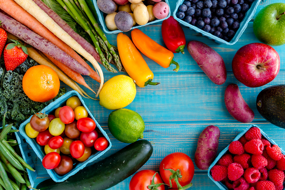 Pick fruits and veggies that you actually like to eat, then it won't be such a chore to eat them.
