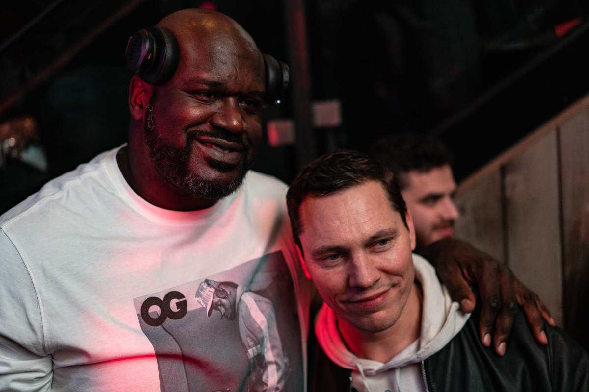 Shaquille O'Neal & Tiesto at Shaq's Fun House for Miami Music Week (EDM.com Feature)
