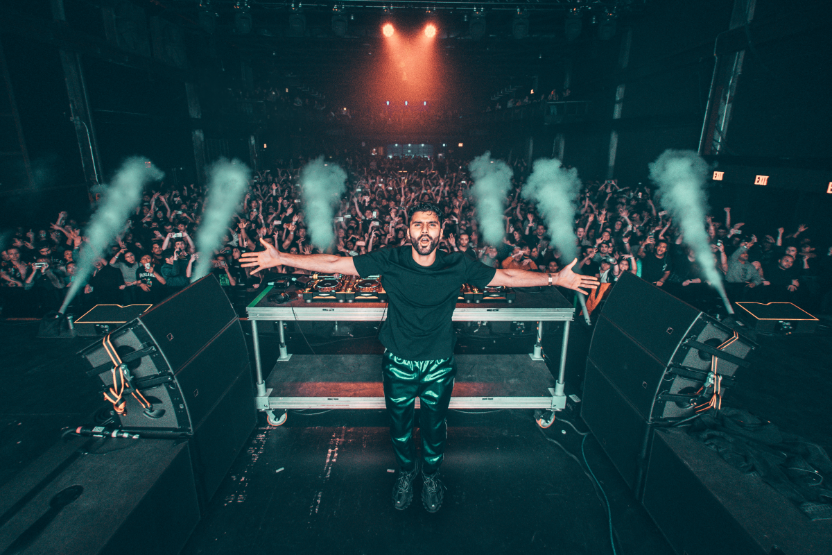 R3hab performance Brooklyn Steel