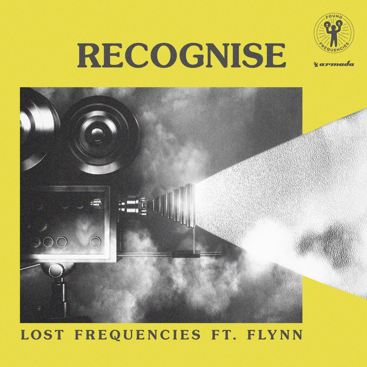 Artwork Recognise Lost Frequencies