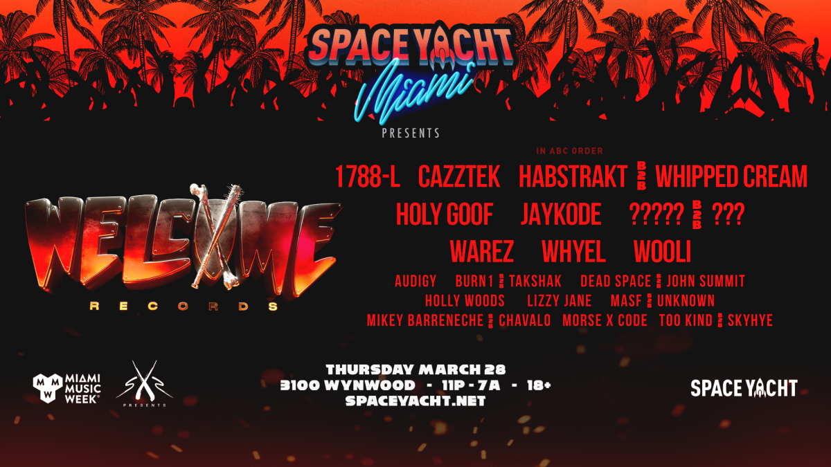 Space Yacht Party at Miami Music Week (EDM.com Feature)