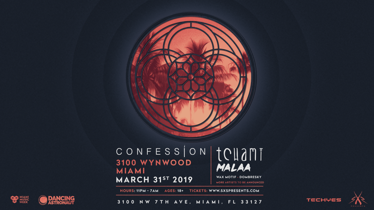 Confession Label Party (Miami Music Week) ft. Tchami Malaa, Wax Motif and more! (EDM.com Feature)