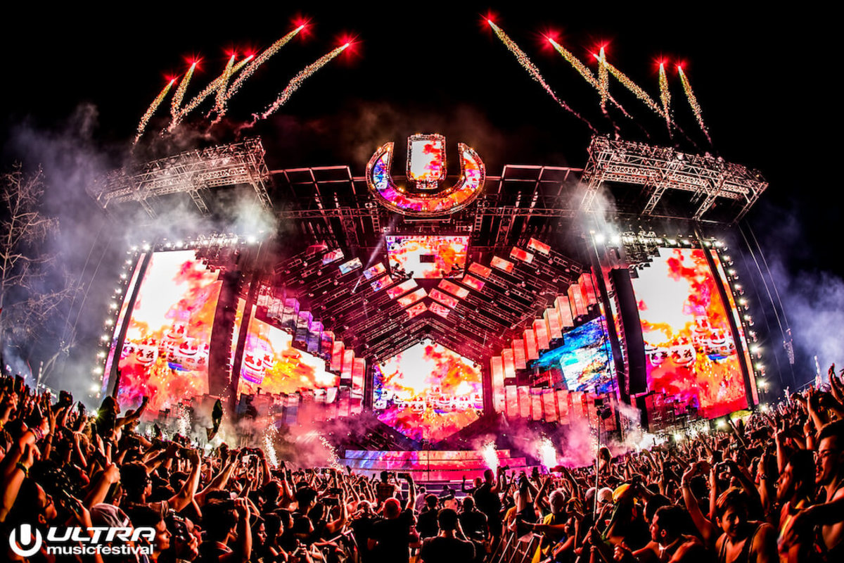 Ultra Music Festival Miami 2018 Main Stage