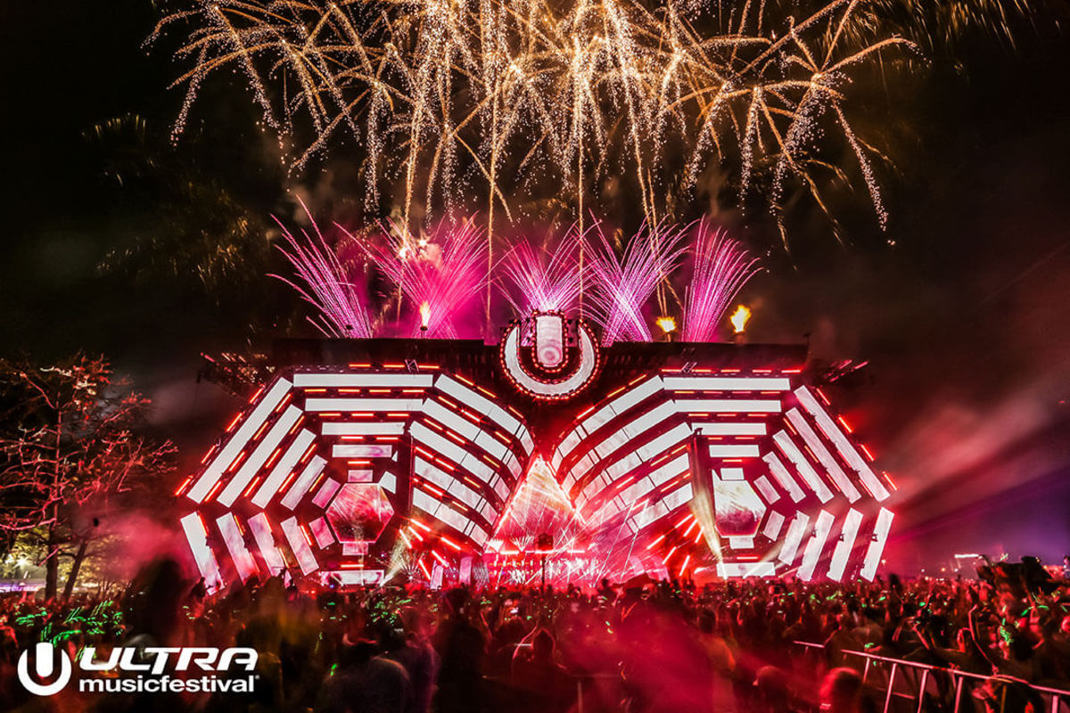 Ultra Music Festival Miami Main Stage 2016.