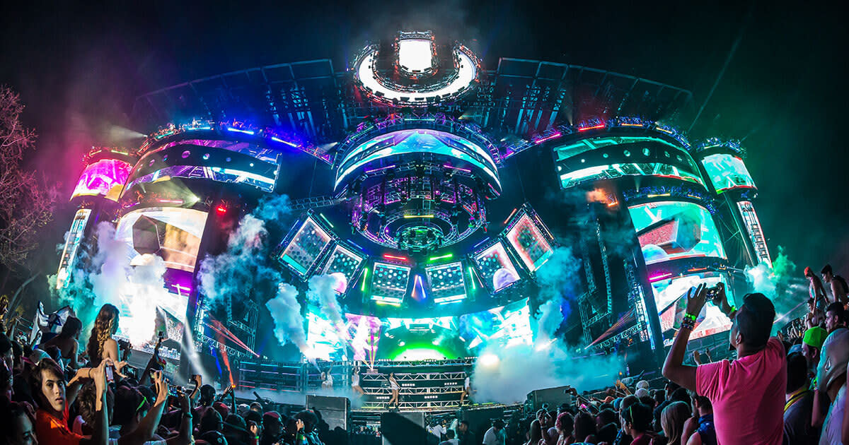 Ultra Music Festival Miami Main Stage 2015.